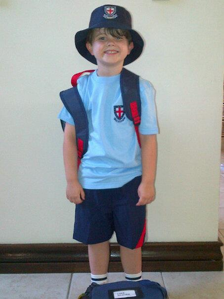 Lukey1stdayschool